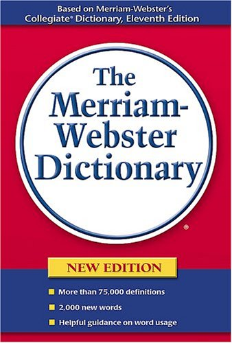 Buy The Merriam-Webster Dictionary087784092X Filter