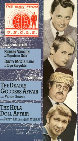 Man From Uncle 22: Deadly Goddess & Hula Doll [Vhs] front-1061321