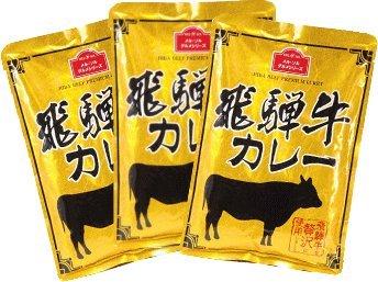 【コーヒーメール】メルソル 飛騨牛カレー (220g×3袋)