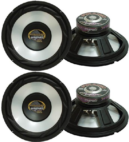 "4) New Pyramid Wx65X 6.5"" 1000W Car Audio Subwoofers Subs Power Woofers 4 Ohm"
