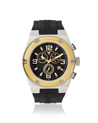 Swiss Legend Men's 30025-01-GB Throttle Black Silicone Watch