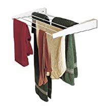 Household Essentials Wall-Mount Telescoping-Rack