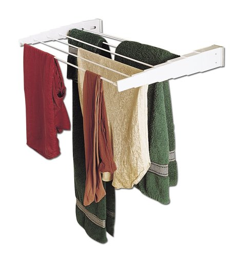 Household Essentials Wall-Mount Telescoping Indoor Clothes Drying RackB0000CNQYI