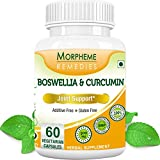 Morpheme Boswellia & Curcumin For Joint Support 500mg Extract 60 Veg Capsules