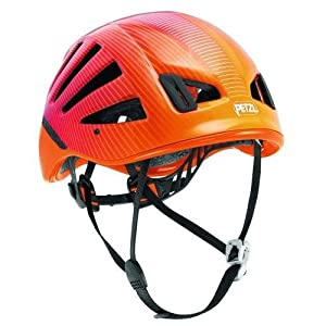 Petzl Meteor III + Climbing Helmet (Red/Orange)