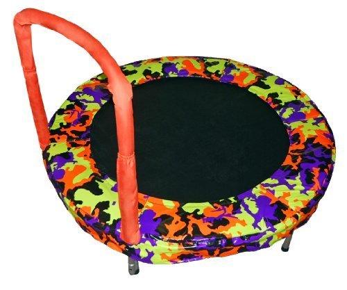 Bazoongi-Bouncer-Trampoline-48-Inch-Camouflage-Orange-by-Bazoongi