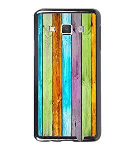 Fuson Premium 2D Back Case Cover Designed wood With Purple Background Degined For Samsung Galaxy A3::Samsung Galaxy A3 A300F