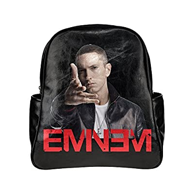 NBQLY Super Rap Star Eminem Unisex Multi Pocket Shoulders Backpack
