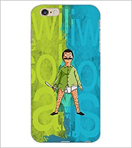PrintDhaba Funny Image D-4016 Back Case Cover for APPLE IPHONE 6 (Multi-Coloured)