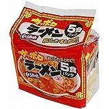 麺のスナオシ サッポロラーメン 醤油 5P×6個