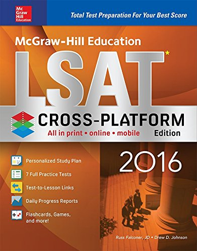 McGraw-Hill Education LSAT 2016, Cross-Platform Edition