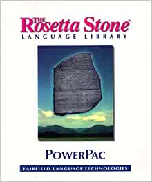 The Rosetta Stone Language Library Powerpac Powerpac