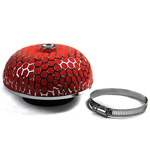 Supeedomotor-Filtro dell'aria in schiuma, a forma di fungo, colore: rosso-Kit aspirazione per cottura a induzione