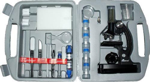 Ioptron 6805 84-Piece Microscope Kit (Black)