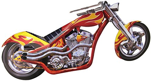 Beistle 55220 3 Dimensional Chopper Centerpiece, 6-Inch by 14-Inch (Mask Chopper Motorcycle compare prices)
