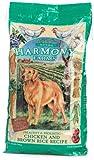 HARMONY FARMS Healthy & Holistic Chicken & Brown Rice Adult Dog Food, 17.5-Pound Bag