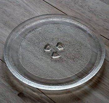 28,5 cm PIATTO rotante Universale sostituzione microonde piatto girevole vassoio di vetro Ricambi Microonde Piastra di ricambio con 28.5 centimetri di diametro piatto microonde piatto piatto microonde