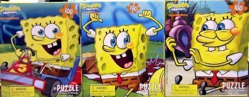 SpongeBob SquarePants 100 Piece Jigsaw Puzzle - Assorted Styles (1 Piece) - 1