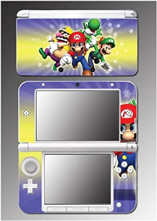 New Super Mario Bros Brothers Bowser Yoshi Video Game Vinyl Decal Cover Skin Protector 11 Nintendo 3DS XL