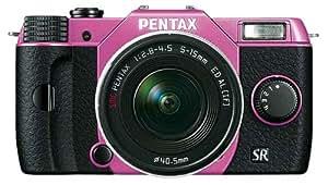 "Pentax Q10 Compact à objectif interchangeable LCD 3"" 100 Mpix Zoom 5-15 mm f/2,8-4,5 Rose"