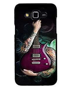 Fuson Premium My Music Metal Printed with Hard Plastic Back Case Cover for Samsung Galaxy Grand 3 G7200 G7202