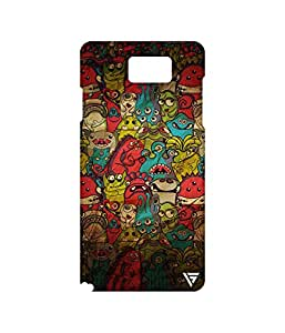 Vogueshell Cartoon Pattern Printed Symmetry PRO Series Hard Back Case for Samsung Galaxy Note 5