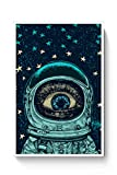 PosterGuy Astronaut Alien In Space Astronaut, Space, Alien, Stars, Psychedelic Poster (A4)