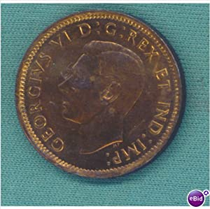1946 Canada Cent Coin
