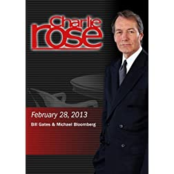 Charlie Rose - Bill Gates & Michael Bloomberg (February 28, 2013)