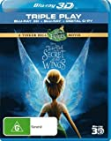 Tinker Bell and the Secret of the Wings (3D Blu-ray/Blu-ray) (3 Discs) Blu-Ray