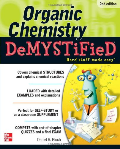 organic chemistry for dummies free pdf