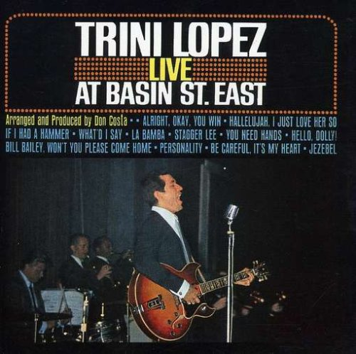 Trini Lopez CD Covers
