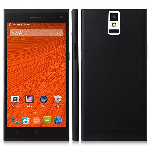 C1000 Smartphone Android 4.4 Mtk6582 5.5 Inch 1Gb 8Gb 3G Otg Finger Scanner Black