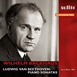 ベートーヴェン:ピアノ・ソナタ集 (Beethoven : Piano Sonatas Nos. 15, 18, 21 & 30 / Wilhelm Backhaus (1969 LIVE)) (2CD)