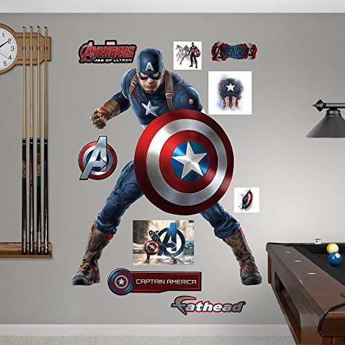 Funk 39 n power with superhero wall decals funk this house for Avengers wall mural amazon