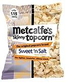 Metcalfe's skinny topcorn, Sweet 'n Salt flavour (12 packs)