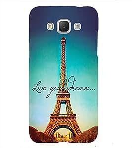 Effie Tower Dream 3D Hard Polycarbonate Designer Back Case Cover for Samsung Galaxy Grand 3