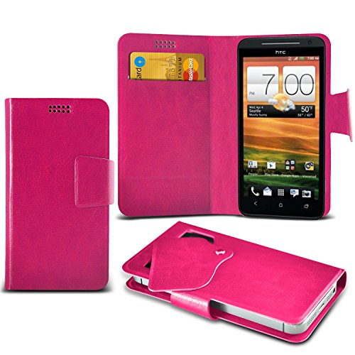 hot-pink-htc-evo-4g-lte-super-thin-pu-leather-suction-pad-wallet-case-cover-skin-with-credit-debit-c