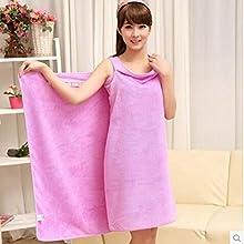 Services for You 2 PCS Magic Multi Sexy Women Beach Bath Towel Travel Body Wrap Absorbent Microfiber