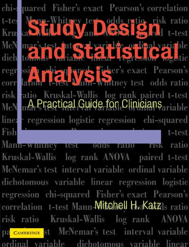 Study Design and Statistical Analysis: A Practical Guide...