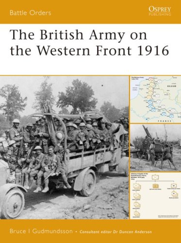 The British Army on the Western Front 1916 (Battle Orders)