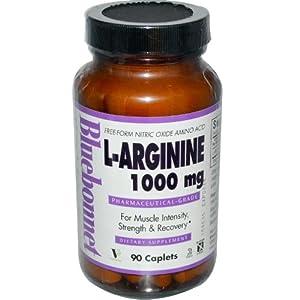 Amazon.com: Bluebonnet L-Arginine 1000 mg Capsules, 90 ...