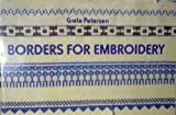 img - for Borders For Embroidery book / textbook / text book