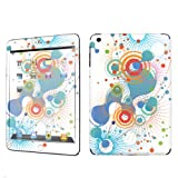 Apple iPad Mini Decal Vinyl Skin White Abstract By SkinGuardz