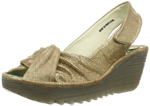 Fly London Womens Yakin Slingback P500124068 Stone 4 UK, 37 EU
