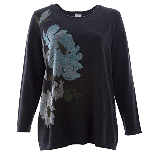 marina-rinaldi-womens-arabesca-floral-sweater-x-large-grey