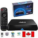 Lightinthebox®M8 Quad Core Android 4.4 Smart Set Top TV Box XBMC 3D Blu-ray 4K Streaming Media Player Miracast DLNA Receiver Amlogic S802 AML8726-M8 Cortex A9@ 2GHz 2GB Ram 8GB Rom Mali450 GPU 4K HDMI 2.4G/5G Dual WiFi Ultra HD Mini PC