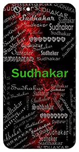 Sudhakar (Mine Of Nectar, Moon) Name & Sign Printed All over customize & Personalized!! Protective back cover for your Smart Phone : Apple iPhone 7