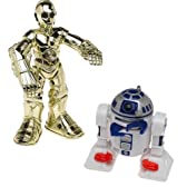 Star Wars Jedi Force C3PO & R2D2 Light-up Figures Playskool