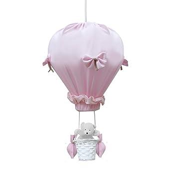 c lin c line lampe lampe de plafond montgolfi re juliette rose b b s pu riculture. Black Bedroom Furniture Sets. Home Design Ideas